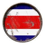 Old Republic of Costa Rica flag Royalty Free Stock Images