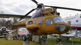 Old rescue helicopter Royalty Free Stock Image