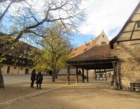 Old Residence in Bamberg royalty free stock photos