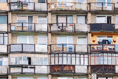 Free Old Residential Building Balconies And Windows Stock Photos - 98016723