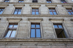 Old residential building facade, berlin Stock Photos