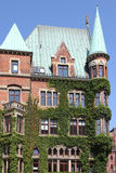 Old residential building in Hamburg Stock Photography