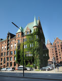 Old residential building in Hamburg Royalty Free Stock Photography