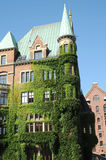 Old residential building in Hamburg Royalty Free Stock Photos