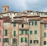 Old residential building Royalty Free Stock Images