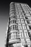 Old residential high-rise buildings Royalty Free Stock Photo