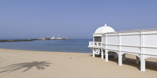 Old resort Cadiz Royalty Free Stock Photo
