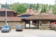 Old restaurant in Bulgaria Koprivshtitsa Stock Image