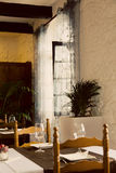 Old Restaurant Interior royalty free stock photo