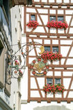 Old restaurant sign at Stein am Rhein Royalty Free Stock Photos
