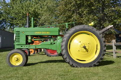 Old restored B John Deere Royalty Free Stock Photos