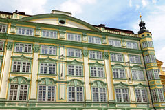 Old restored building in Prague Royalty Free Stock Images