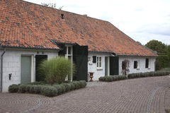 Old restored Dutch farmhouse Stock Photos