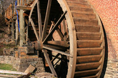 Old Restored Gristmill Stock Photos
