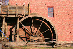 Old Restored Gristmill. Colvin Run Mill in Virginia is an early 19th century operating gristmill. It is also an award-winning restoration and a Virginia landmark Royalty Free Stock Image