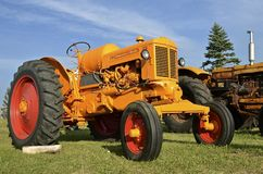Old restored Minneapolis Moline ZB  tractors Royalty Free Stock Image