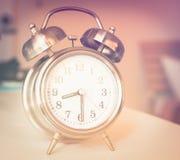 old retro alarm clock Stock Image