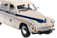 Old retro ambulance. Royalty Free Stock Photos