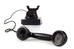 Old retro bakelite telephone Stock Photography