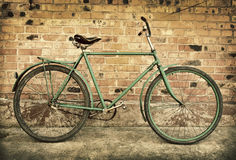 Old retro bicycle Royalty Free Stock Photography