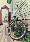 Old retro bike Stock Images