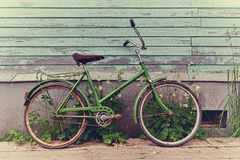 Old retro bike Royalty Free Stock Images