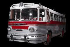 Old retro bus. Royalty Free Stock Image