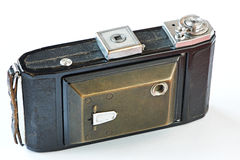 Old retro camera close mode Stock Photography