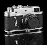 Old retro camera Stock Images