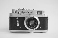 Old retro camera Royalty Free Stock Photos