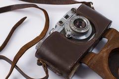 Old retro camera Stock Photography