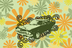 Old retro car Royalty Free Stock Photography