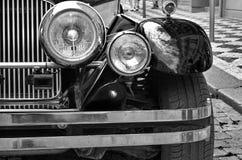 Old retro car details Stock Images