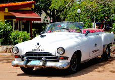 Old retro car in Havana,Cuba stock images
