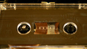 Old retro compact cassette vintage audio recorder Royalty Free Stock Photography
