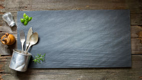 Old retro culinary menu abstract background Royalty Free Stock Photography