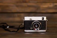 Old retro film camera Royalty Free Stock Photo
