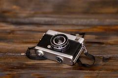 Old retro film camera Royalty Free Stock Photography
