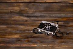 Old retro film camera Royalty Free Stock Photos