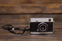 Old retro film camera Royalty Free Stock Image