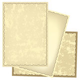 Old retro frames with grungy background - eps Royalty Free Stock Photography