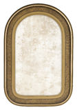 Old Retro Gold Frame. With rounded Corners Royalty Free Stock Photography