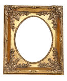 Old retro gold frame Royalty Free Stock Photos