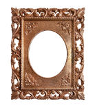 Old retro gold frame Royalty Free Stock Image