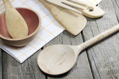 Old retro kitchenware Royalty Free Stock Photos