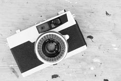 Old retro photo camera Royalty Free Stock Photo