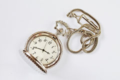 Old retro pocket watch Stock Photos