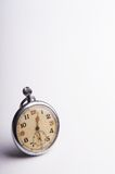 Old scuffed pocket watch - space for text Royalty Free Stock Photography
