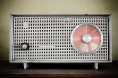 Old retro radio Royalty Free Stock Photography