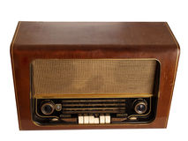 Old retro radio Royalty Free Stock Photo